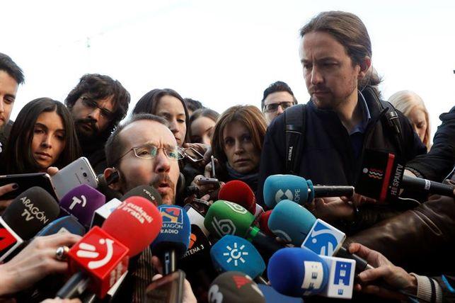 Echenique, elegido por unanimidad número tres de Podemos