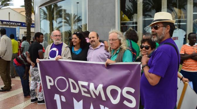 Manifestación del 1º de Mayo