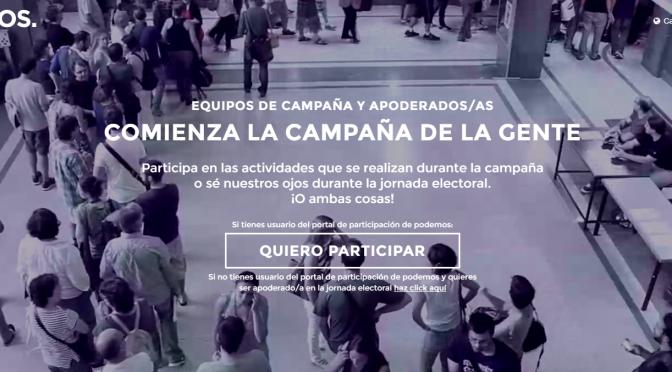 EQUIPOS DE CAMPAÑA Y APODERADOS/AS