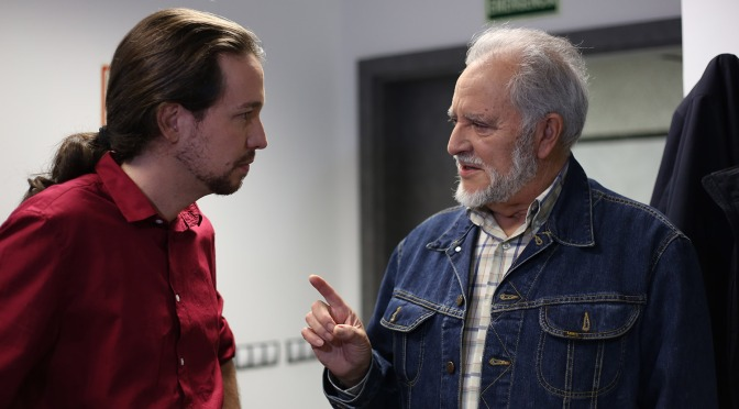 Julio Anguita da el «sí» a ir en las listas de Unidos Podemos por Córdoba
