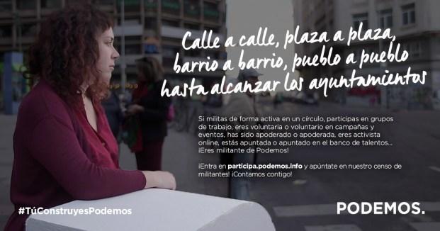 CENSO DE MILITANTES EN ROQUETAS DE MAR